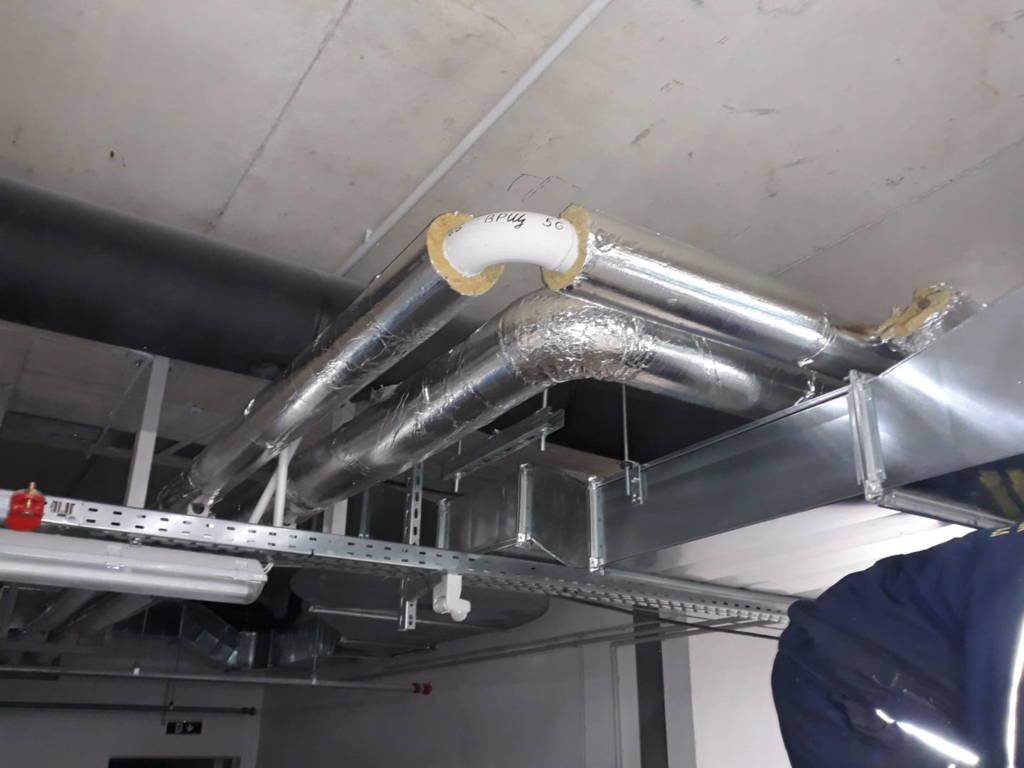 отоплителен топлофикационен тръбопровод