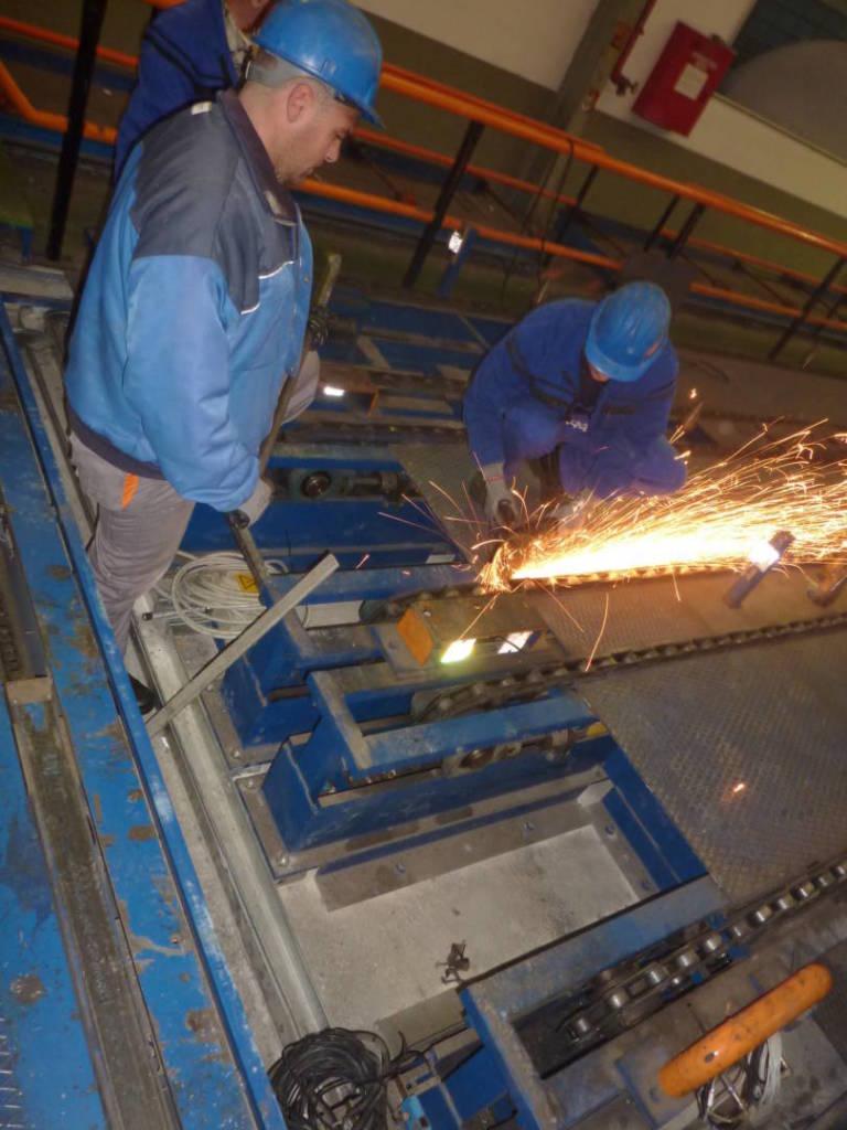 Реконструкция на пещи за закаляване на алуминиеви профили