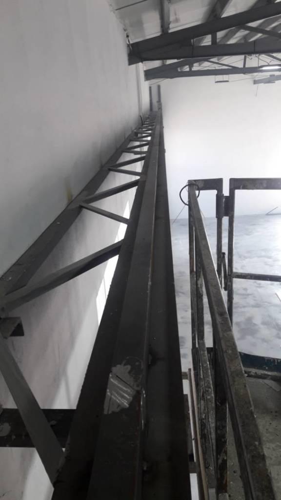 Изработка и монтаж на нова покранова конструкция и покранов път